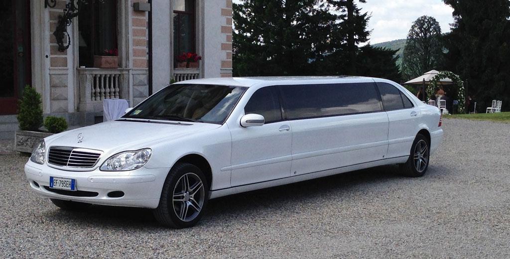 Noleggio limousine matrimonio Bergamo